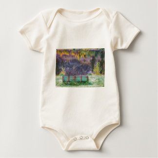 Bench For Day Dreaming Baby Bodysuit