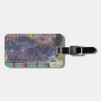 Bench For Day Dreaming Bag Tag