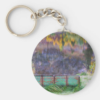 Bench For Day Dreaming Keychain