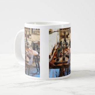 Bench in Dental Lab Large Coffee Mug