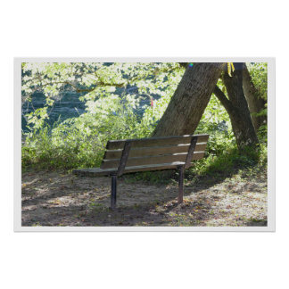 Bench in the Park Poster