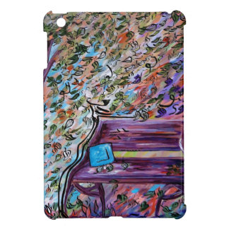 Bench on a Windy Day iPad Mini Case