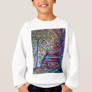 Bench on a Windy Day Sweatshirt