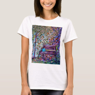 Bench on a Windy Day T-Shirt