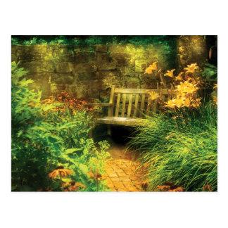 Bench - Privacy Postcard
