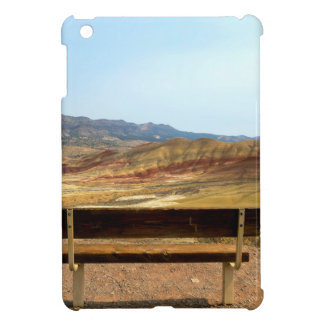 Bench View at Painted Hills Overlook Oregon iPad Mini Case