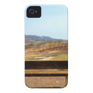 Bench View at Painted Hills Overlook Oregon iPhone 4 Case