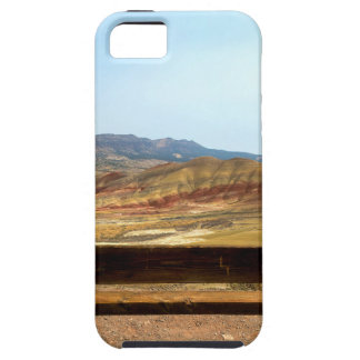 Bench View at Painted Hills Overlook Oregon iPhone 5 Case
