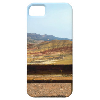 Bench View at Painted Hills Overlook Oregon iPhone 5 Cover
