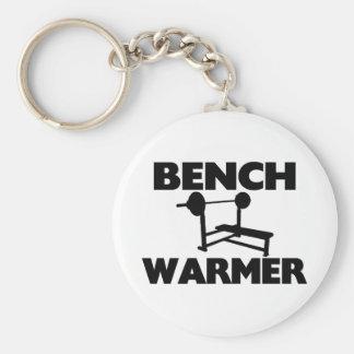 Bench Warmer Keychain