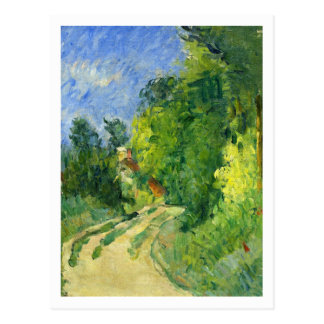 Bend in the Road by Paul Cezanne Postcard