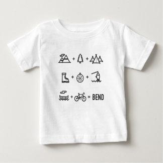 Bend Oregon Activities Equation Logo Baby T-Shirt