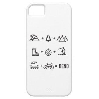 Bend Oregon Activities Equation Logo iPhone 5 Case