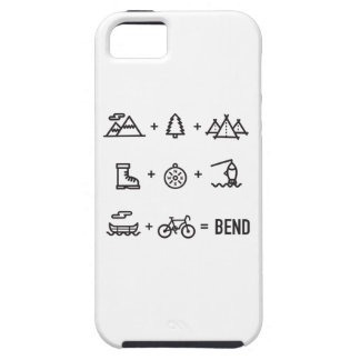 Bend Oregon Activities Equation Logo iPhone 5 Covers