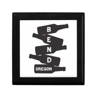 Bend Oregon Beer Bottle Stack Logo Gift Box