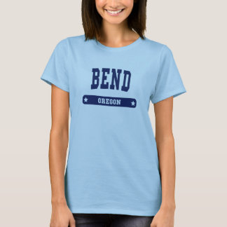 Bend Oregon College Style t shirts