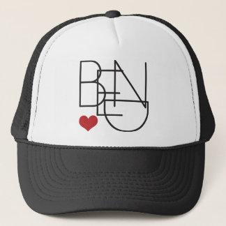 Bend Oregon Heart Trucker Hat