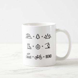 Bend Oregon Outdoor Activities Equation Coffee Mug