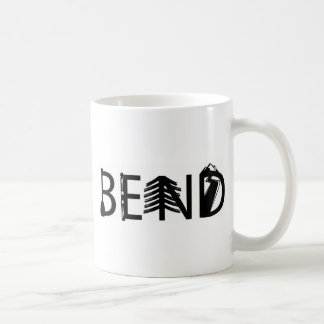 Bend Oregon Outdoor Activity Letters Logo Coffee Mug