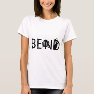 Bend Oregon Outdoor Activity Letters Logo T-Shirt