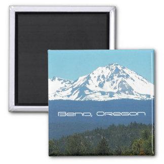 Bend, Oregon Square Magnet
