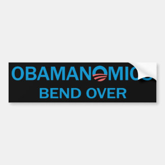 Bend Over Bumpersticker (Black) Bumper Sticker