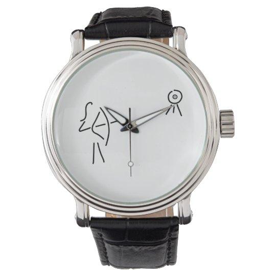 bend-protects arrow bent wrist watch