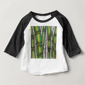 Bending Strength Bamboo by Michael David Baby T-Shirt