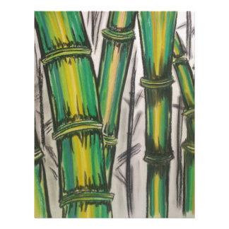 Bending Strength Bamboo by Michael David Letterhead