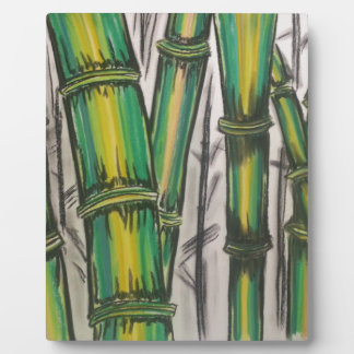 Bending Strength Bamboo by Michael David Plaque