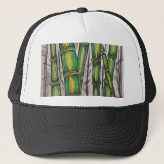 Bending Strength Bamboo by Michael David Trucker Hat
