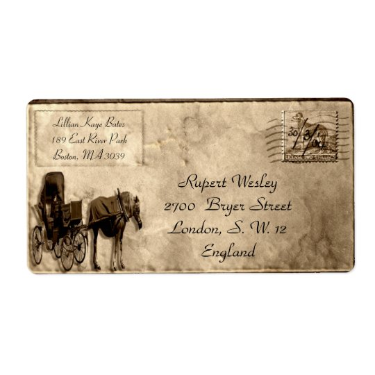 Bendres Customizable Shipping Label