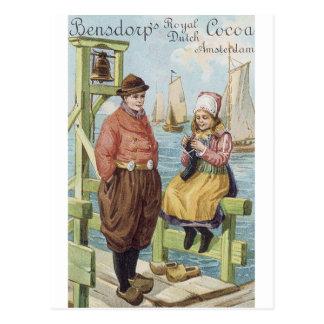 Bendscorp Royal Dutch Cocoa Postcard