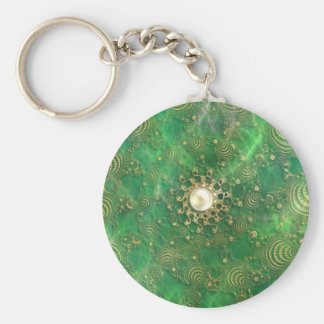 Beneath the Emerald Sea Keychain
