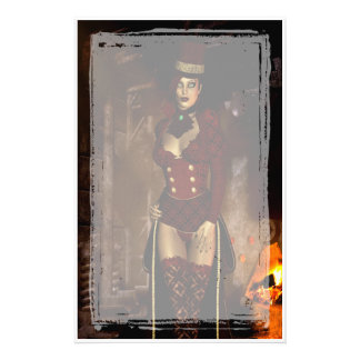 Beneath The Lair Gothic Steampunk Stationery