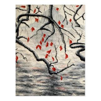 Beneath the Overhang by Fine Artist Alison Galvan Postcard