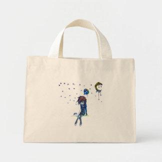 beneath the stars mini tote bag