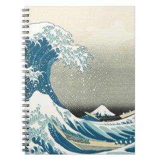 Beneath the Wave off Kamagawa Notebooks