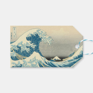Beneath the Wave off Kamagawa Pack Of Gift Tags
