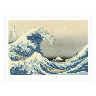 Beneath the Wave off Kamagawa Postcard