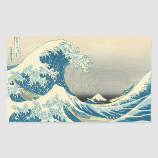 Beneath the Wave off Kamagawa Sticker