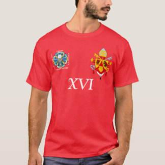 Benedict XVI soccer jersey T-Shirt