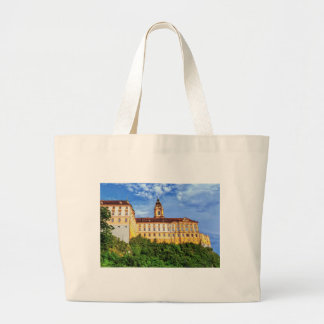 Benedictine abbey, Melk, Austria Large Tote Bag