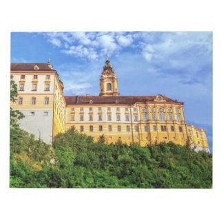 Benedictine abbey, Melk, Austria Notepad