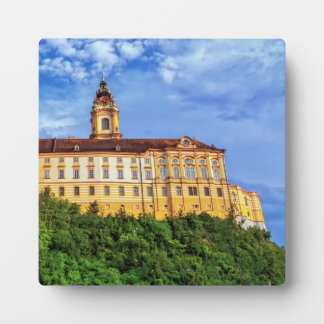 Benedictine abbey, Melk, Austria Plaque