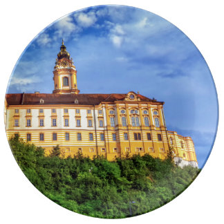 Benedictine abbey, Melk, Austria Plate
