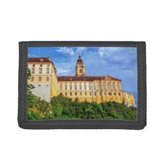 Benedictine abbey, Melk, Austria Tri-fold Wallet