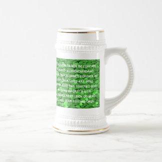 Bénédiction irlandaise de mariage - chope à bière