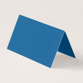 Beneficently Influential Blue Colour Business Card