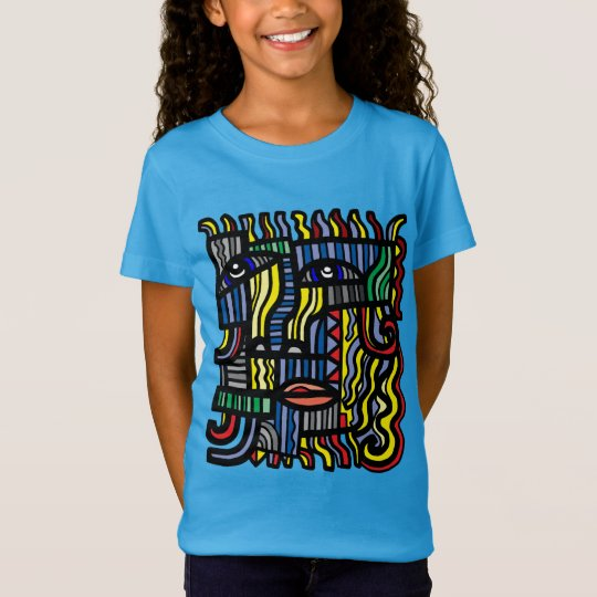 """Benevolent"" Girls' Fine Jersey T-Shirt"